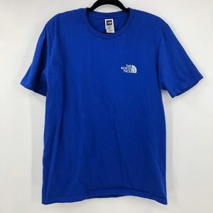 The North Face Tee Shirt Size Large Mens Blue